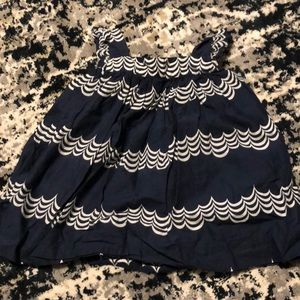 Other - Baby gap 18-24 month dress blue and white